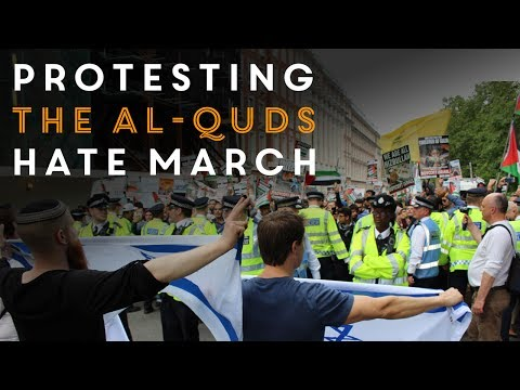Stand Against Hate - Pro-Israel Counter Al-Quds Protest