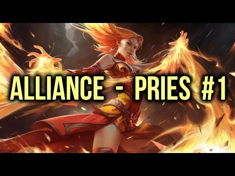 Alliance vs PRIES Dota 2 Highlights Champion League Game 1 (voice bug)