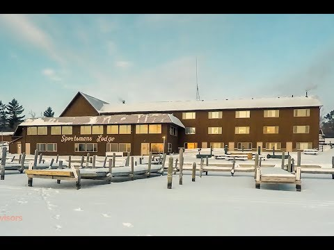Lake Of The Woods Ice Fishing - Sportsman's Lodge   OutdoorsAdvisors