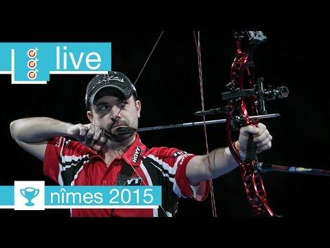 Live: Recurve and Compound Finals  Nîmes 2016