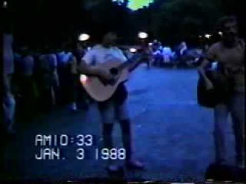 washington square park summer 1989