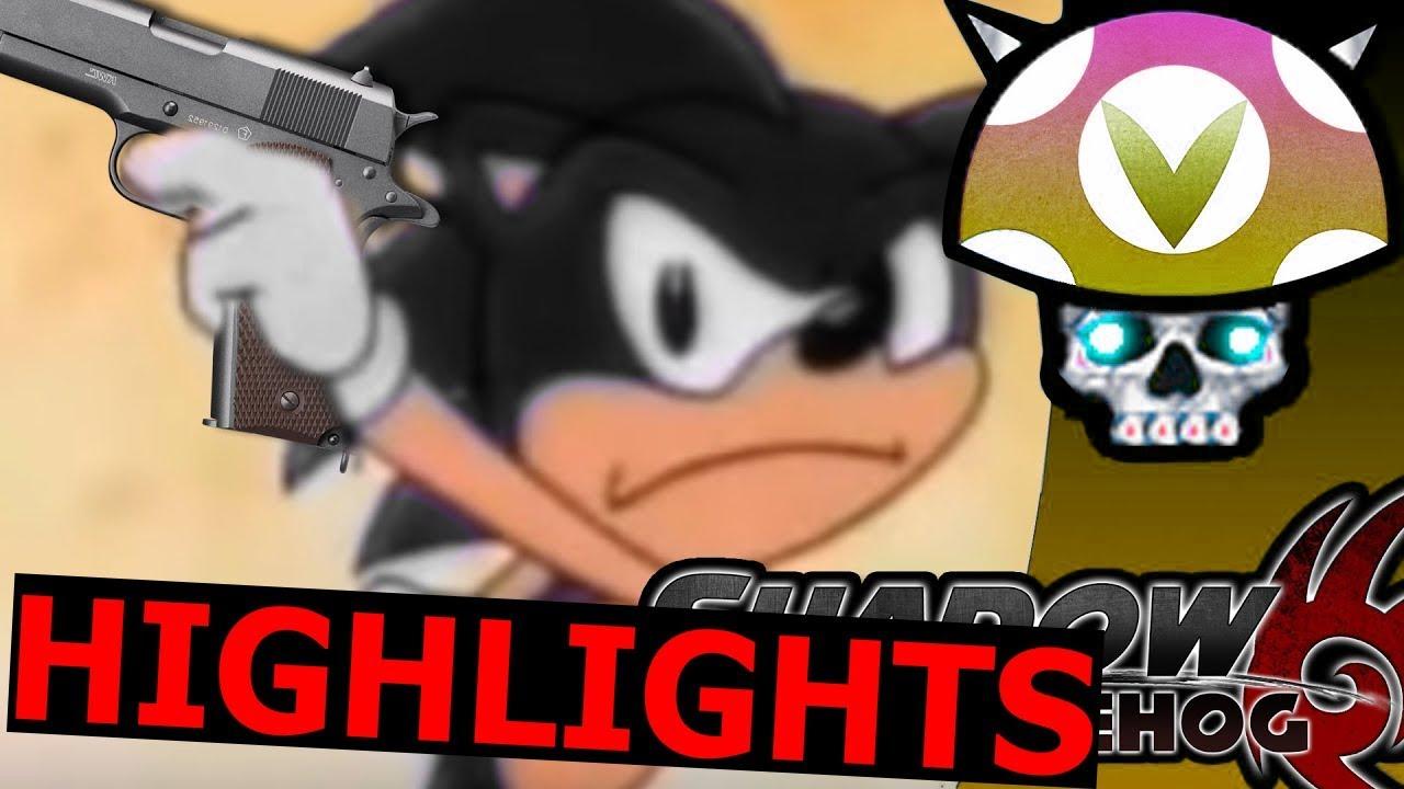 Vinesauce Joel Shadow The Hedgehog Highlights Youtube
