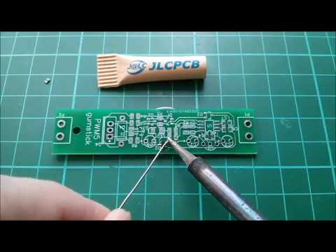 PWM5 Solar Charge Controller PCB Assembly