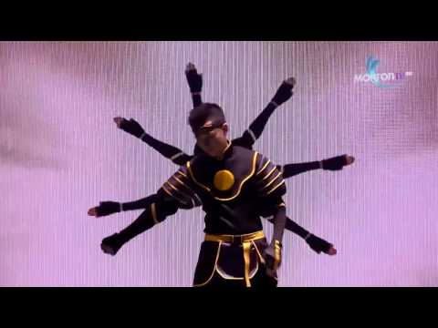CANION SHIJIRBAT World Best Dancer - Unbelievable Animation Dance in Mongolians Got Talent 2016