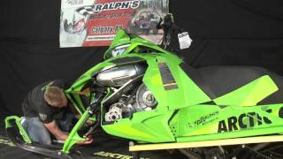 How to Remove Your Hood & Check Fluid Levels Arctic Cat M8