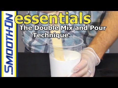 How to Mix Silicone Rubber - The Double Mix and Pour Technique