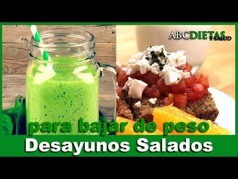 Batidos salados para adelgazar