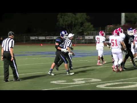 Dana Hills Football Week 5  Game Recap - Garden Grove 9-26-14