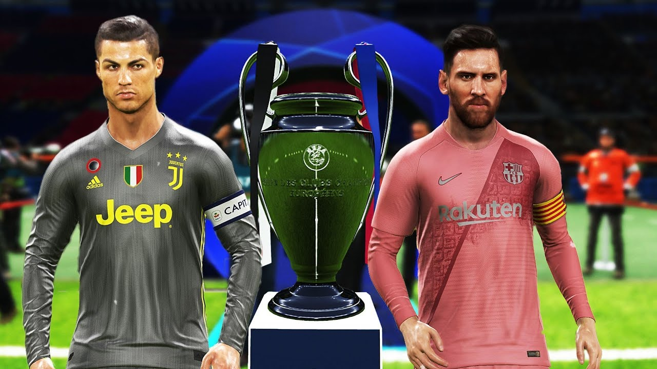 pes 2019 barcelona vs juventus final uefa champions league ucl messi vs ronaldo youtube pes 2019 barcelona vs juventus final uefa champions league ucl messi vs ronaldo
