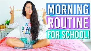 My Morning Routine For School! Back to School 2016