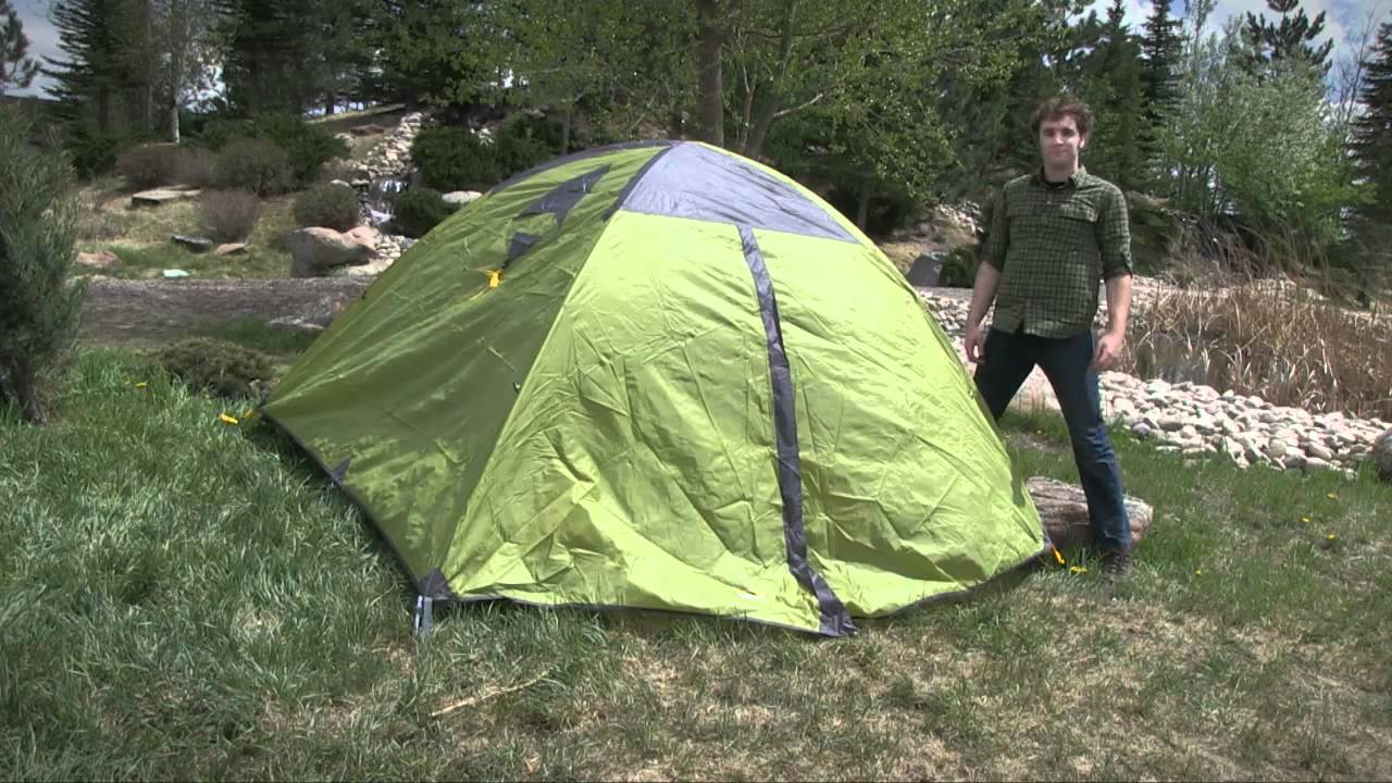 & Mountainsmith Equinox Tent - 4-Person/3-Season - YouTube