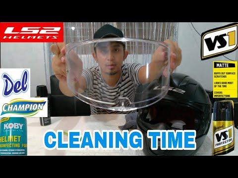 VS1 SA MATTE BLACK - Tips how to clean Helmet | Born Martinez