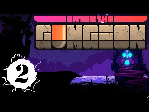 Enter the Gungeon - 2 - Pilot, Rainbow Chest, Progress! Enter the Gungeon gameplay.