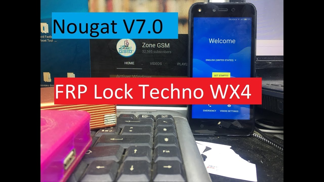 How To Bypass FRP Lock Techno WX4 Android Nougat V7 0 On 2018 Patch Level