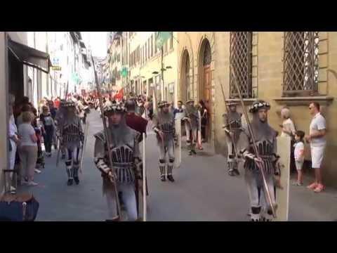 Arezzo, Italy     The Day of the Giostra del Saracino