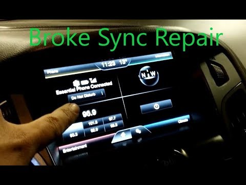Broken Ford Sync Apim Repair Replace Reprogram Youtube