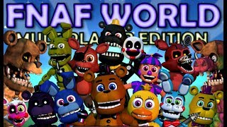 CHICA PLAYS: FNAF World - Multiplayer Edition || PLAYING ONLINE WITH OTHER PEOPLE... KINDA
