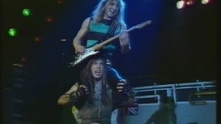 Iron Maiden - Live in Dortmund 1983/12/18 [Rock Pop Festival] [50fps]