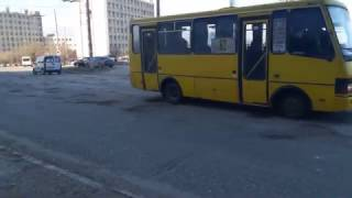 Дороги в Симферополе. Район