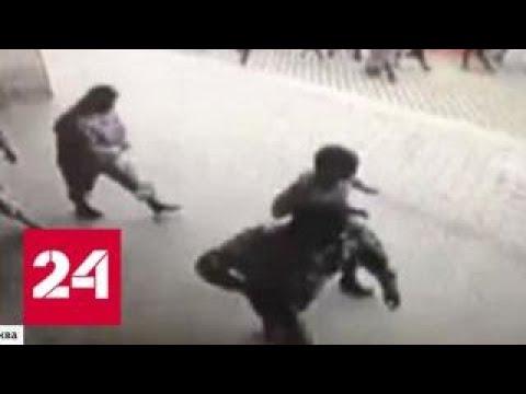 В Москве ищут банду, которая ограбила банк за две минуты - Россия 24