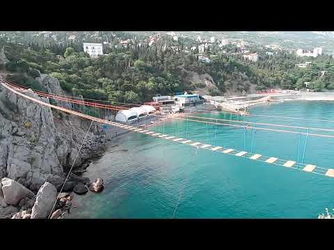 Симеиз 1 Июня 2019 Крым Дива мост Пляжи Посёлок