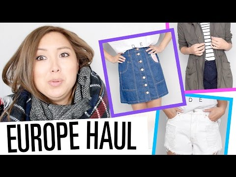 Europe Fashion HAUL! Mango, Pull&Bear, Primark, Next