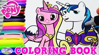 My Little Pony Coloring Book MLP Cadance Shining Armor Episode Surprise Egg and Toy Collector SETC