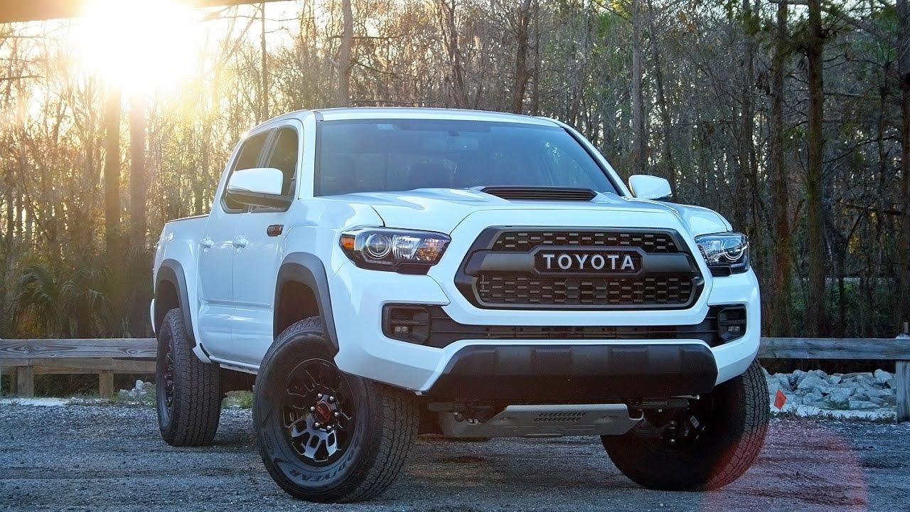 2017 Toyota Tacoma Trd Pro Driven