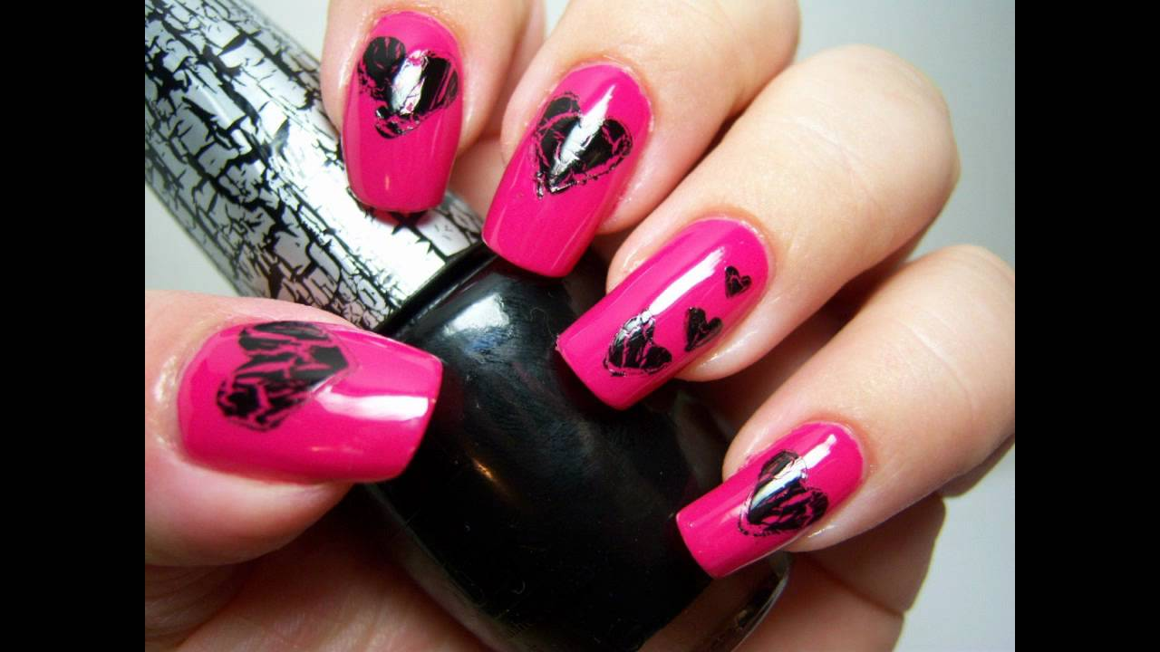 You Shattered My Heart!! Nail Design (using OPI Shatter) - YouTube