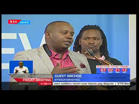 Different faces band share their journey after playing at Safaricom Jazz Festival: Guest Anchor pt 1
