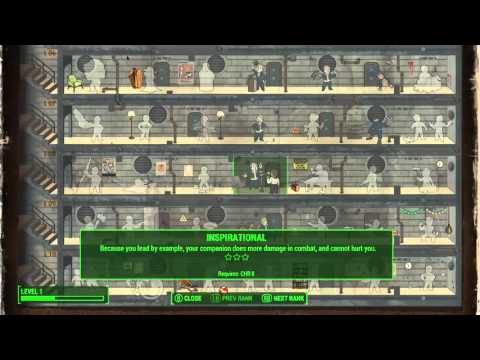 Fallout 4 BEST charisma character build!