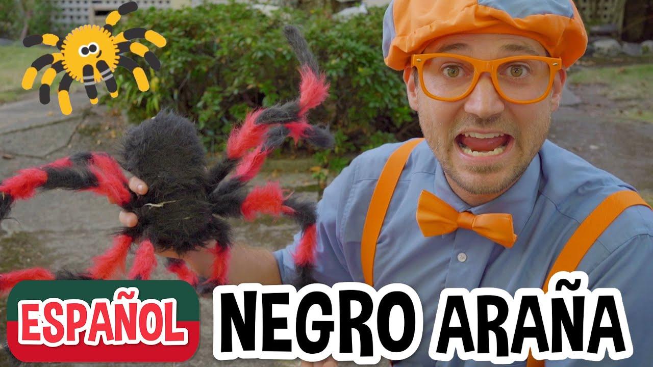 Blippi Decora una Casa para Halloween - Casa de Terror de Halloween   Videos de halloween para niños