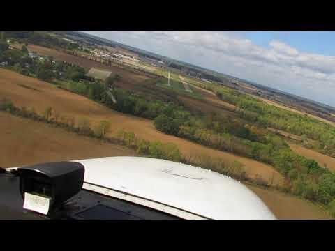 Fall Color Aerial Tour @ Grand Ledge, Michigan. - Landing 10/13/17