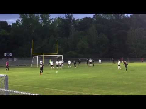 Free kick goal vs West Morgan high school