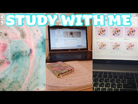 STUDY WITH ME📓ДИСТАНЦИОННОЕ ОБУЧЕНИЕ🏡Мотивация на учебу!!!