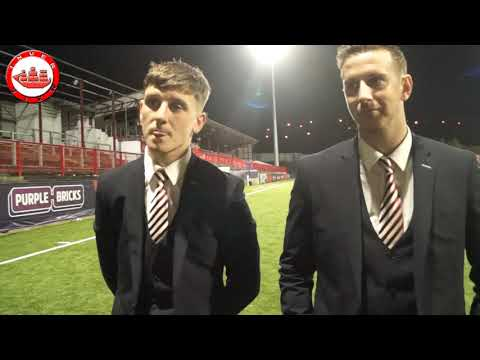 Larne 2-0 Knockbreda: Man of the Match - Patrick McNally