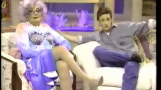 Dame Edna Interviews Luke Perry