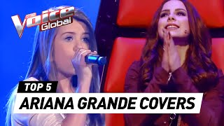 BEST ARIANA GRANDE BLIND AUDITIONS IN THE VOICE KIDS