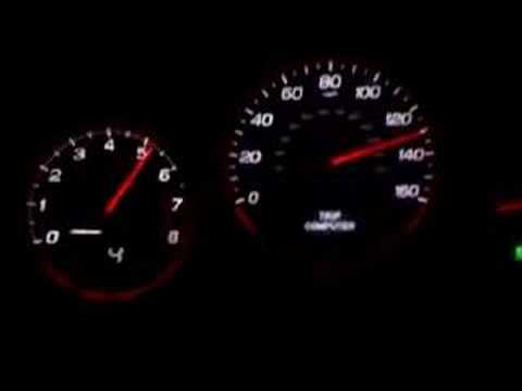 Acura TL TYPE S 5AT TOP SPEED ADD 1.3% to SPEEDO - YouTube