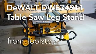 DEWALT DWE74911 Rolling Stand for Table Saws from Toolstop