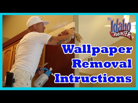 Home Improvement Wallpaper Removal