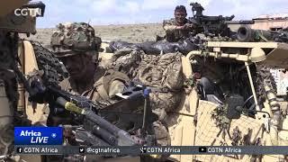 Kenyan, British soldiers engage in training at Lolldaiga Hills