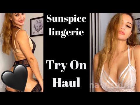 Sunspice Lingerie Try On Haul