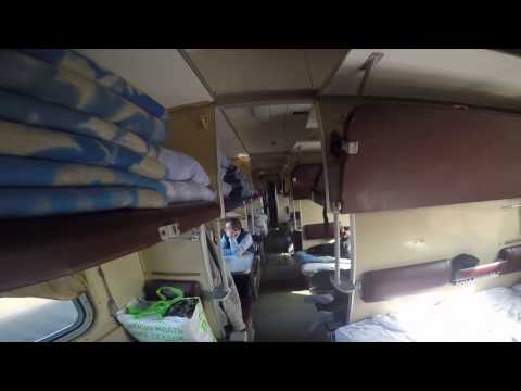 Выход из поезда №72 на станции Мысовая