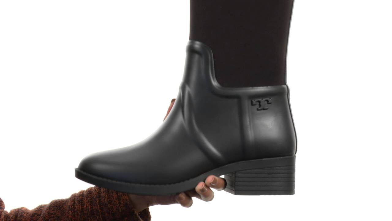 4f8f9a269e4 Tory Burch April Rain Boot SKU 8814117 - YouTube