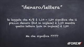 Scuola di Forex Lezione n 1 - IlForextrading it