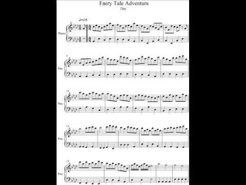 Faery Tale Adventure Piano Transcription-Day