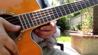 Nastaran (Farshid Amin) Guitar Lessonآموزش آهنگ نسترن-فرشید امین