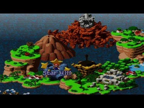 Super Mario Rpg World Map 16 Youtube