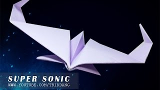 COOL PAPER PLANE - Avión De Papel Instructions | Super Sonic (Voice Ver.  )